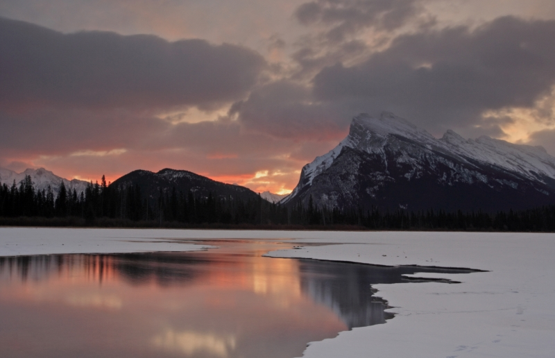 Sunrise At Banff