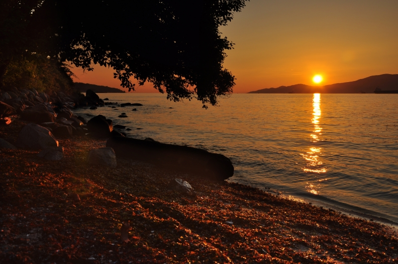 Kits Beach Sunset