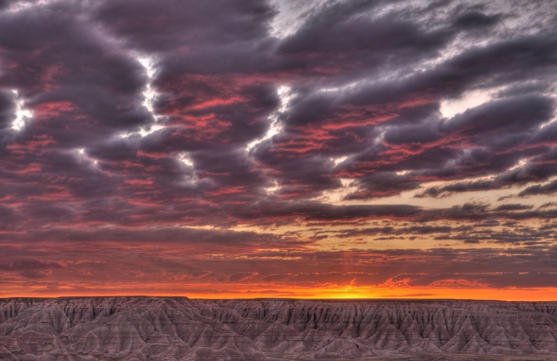 Sunrise – Badlands National Park