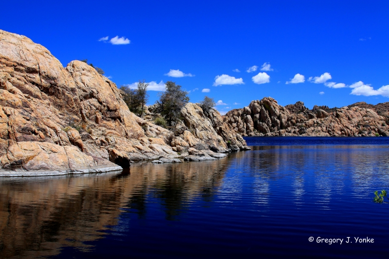 Watson Lake – Blue Sky And Water