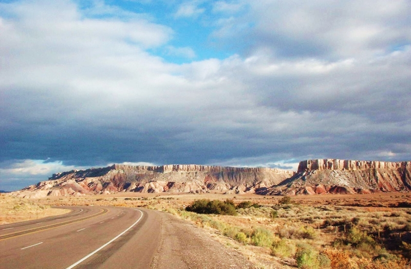 Back Road Into New Mexico