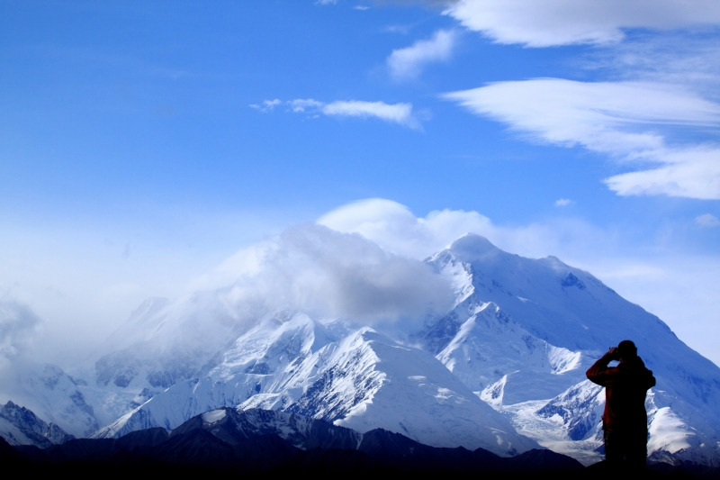 Mount Mckinley Being Photographed