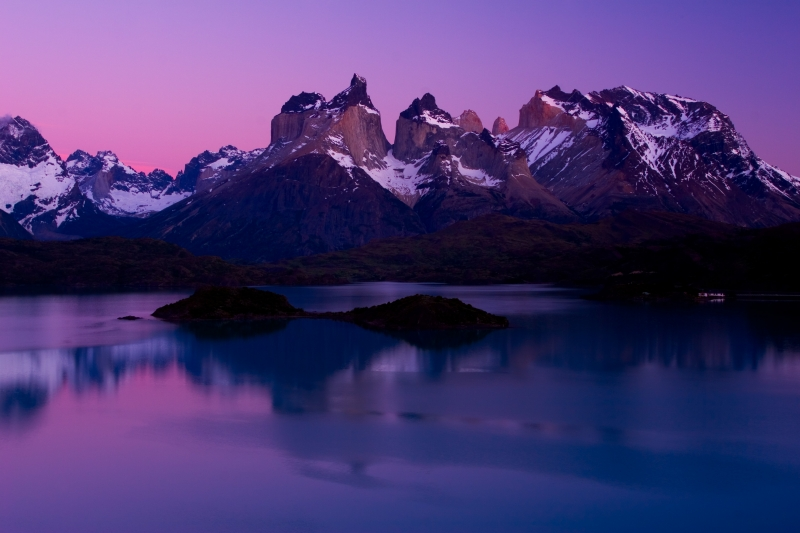 Morning Light , Torres Del Paine
