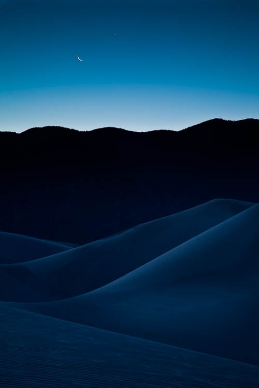 Moonrise Over Great Sand Dunes National Park