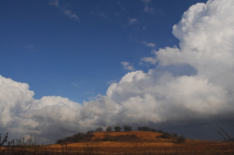 Clearing Storm Over Drumlin
