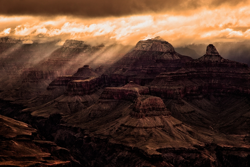 Morning Storm, Grand Canyon National Park