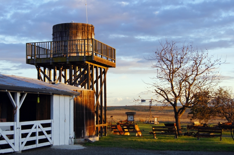 Water Tower At Rush Ranch