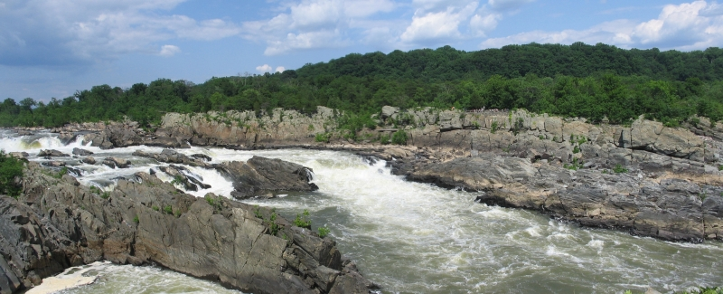 Across Great Falls To Maryland