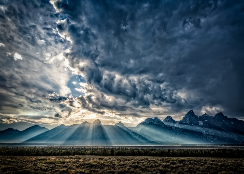 Sublime Teton Sunset