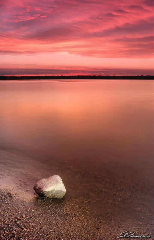 Alum Creek State Park Beach Sunrise