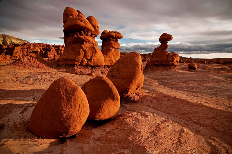 Sunset, Goblin Valley