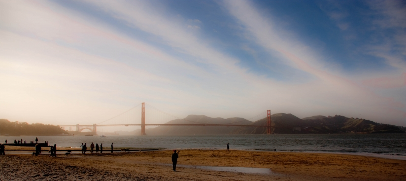 Golden Gate From Crissy Field