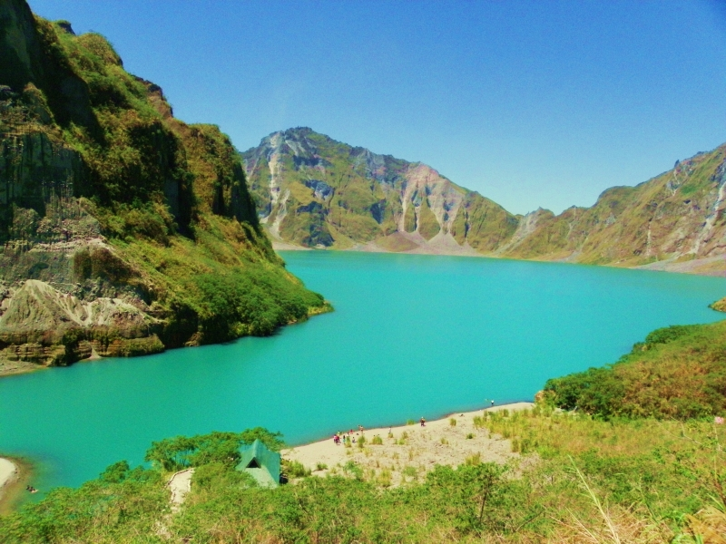 Mt Pinatubo Crater
