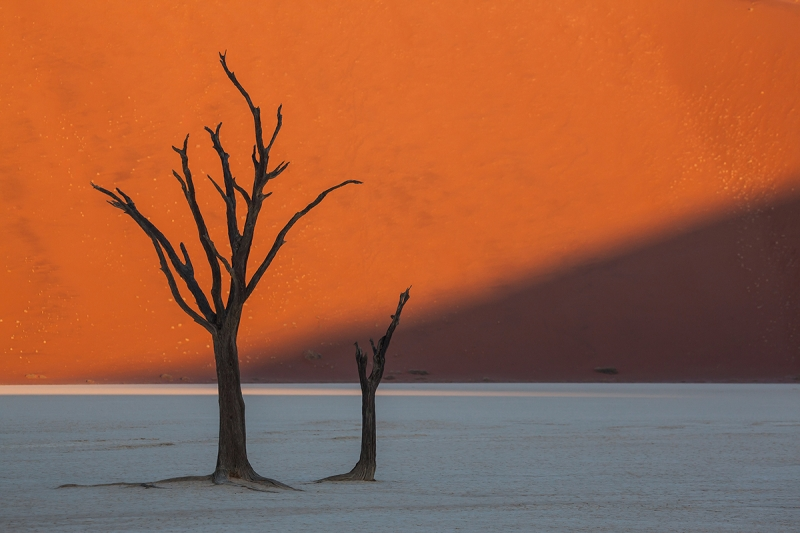 End Of Day At Dead Vlei