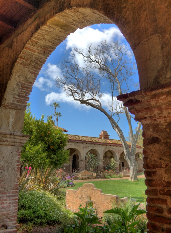 San Juan Mission In Midday
