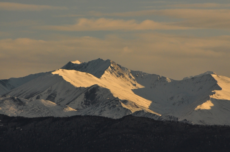 November Snow In The Chugach Mts