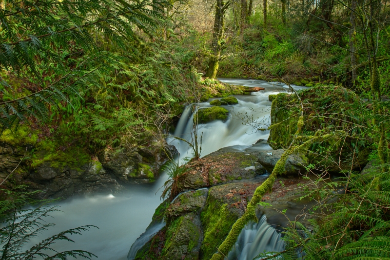 Hidden Falls – Tokul Creek