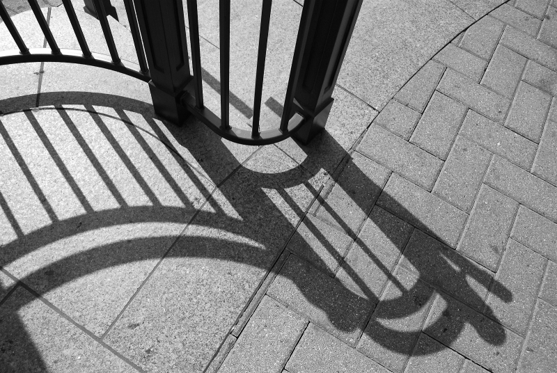 Curved Shadow