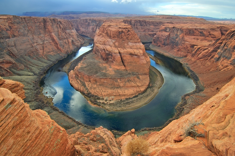 Winter Storm And Horseshoe Bend