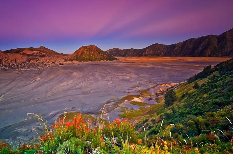 Morning At Bromo Mountain