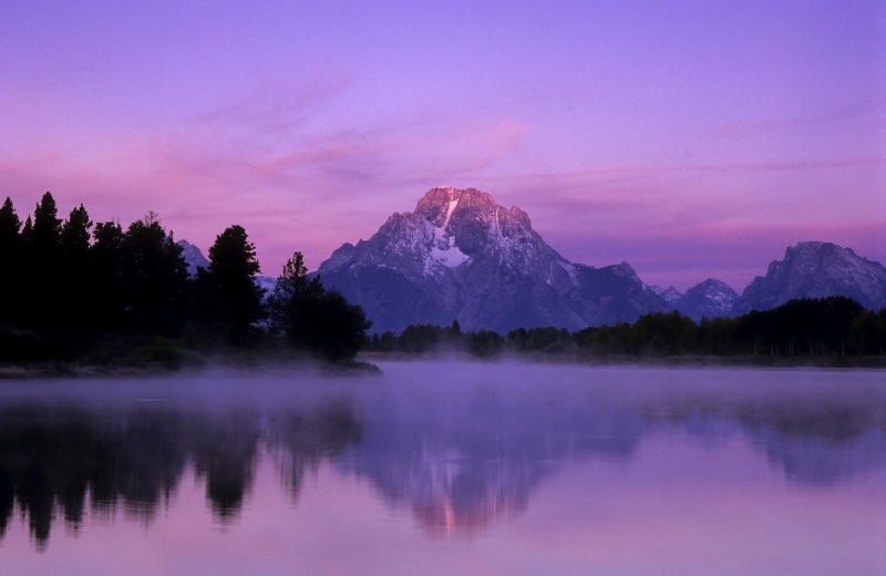 Before Sunrise At Oxbow Bend