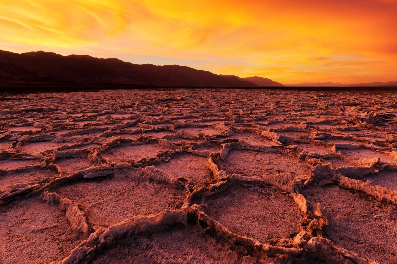 Fiery Death Valley