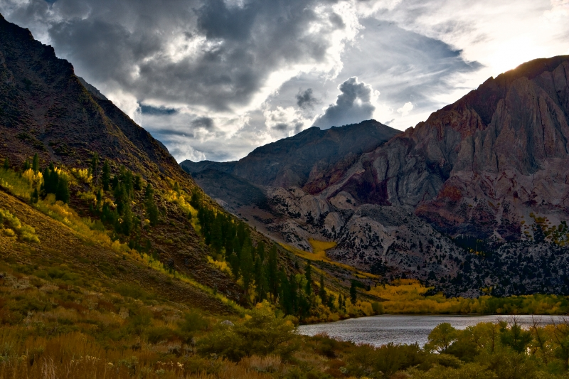 Convict Lake Autumn Sunset