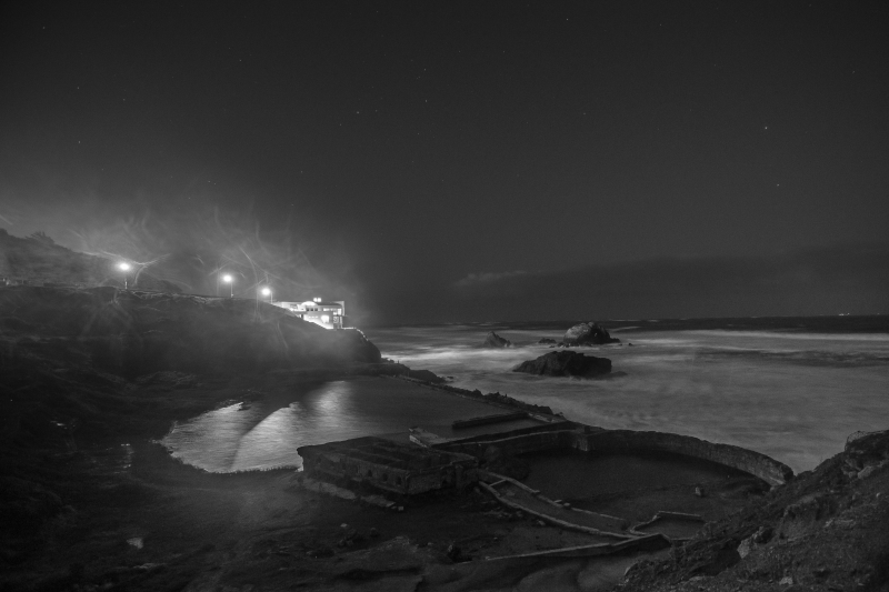 Sutro Baths At Dawn