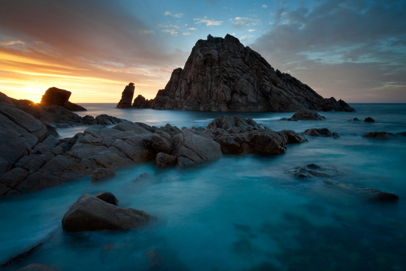 Sunset, Sugarloaf Rock
