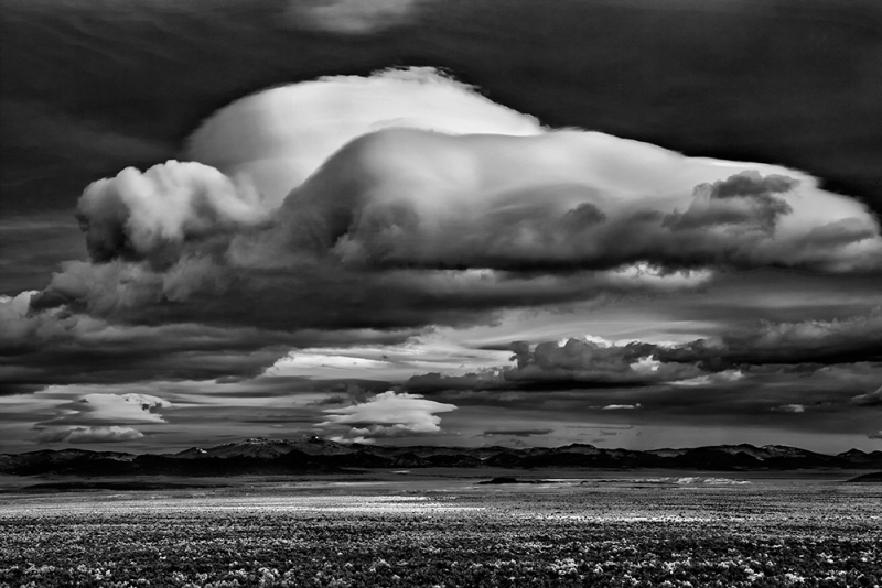 Morning Clouds Over Mono Lake