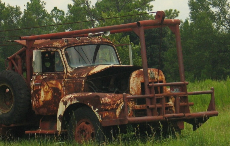 Rusty Wrecker
