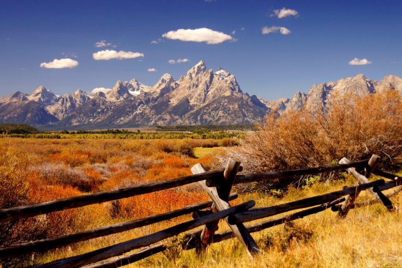 The Tetons At Their Best