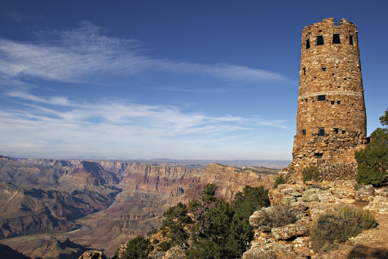 Grand Canyon And Watchtower