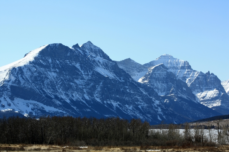 Rocky Mountains Of St. Mary