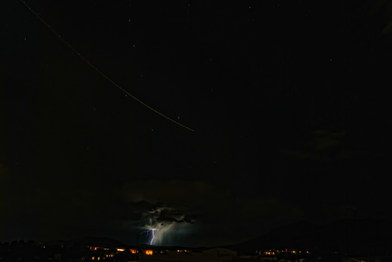 Monsoon Storm Under The Big Dipper