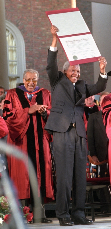 Nelson Mandela Honorary Degree