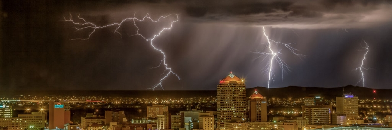Electrifying Downtown Albuquerque