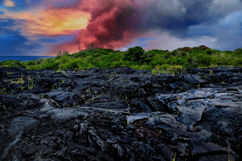 Destructive Lava