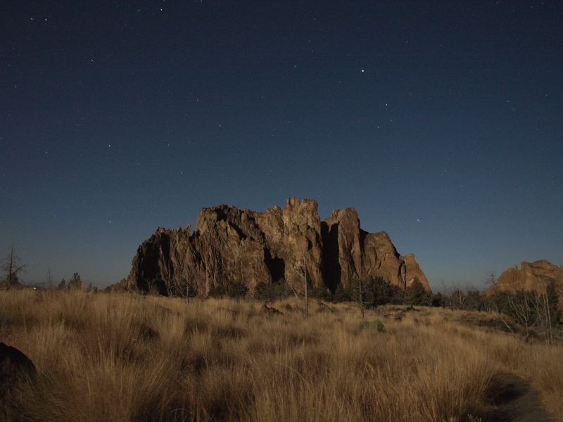 Smith Rocks Under The Full Moon