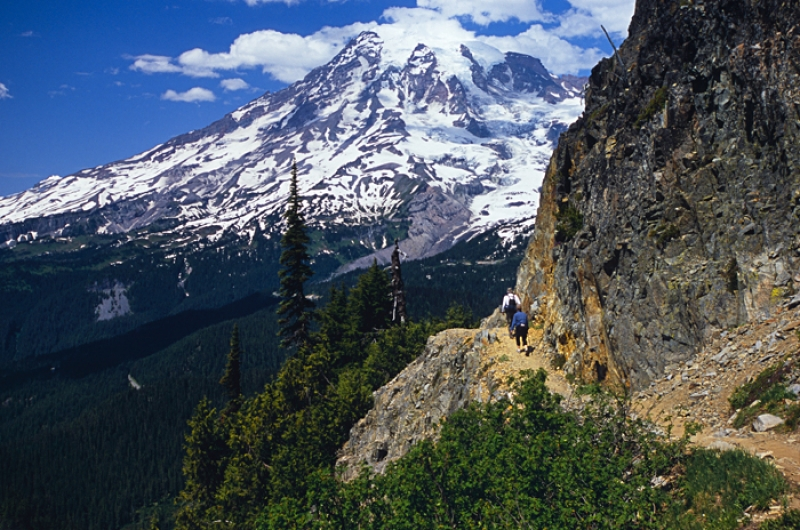 Pinnacle Peak Trail, Mt. Rainier Ntl Park, Wa