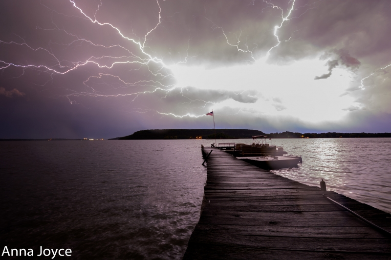Lightning Over Sawyer Harbor