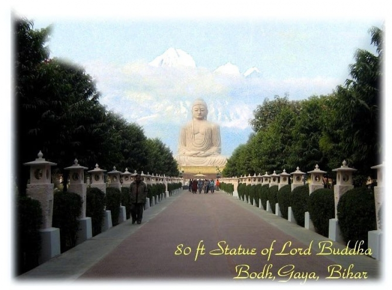 80 Ft Statue Of Lord Buddha