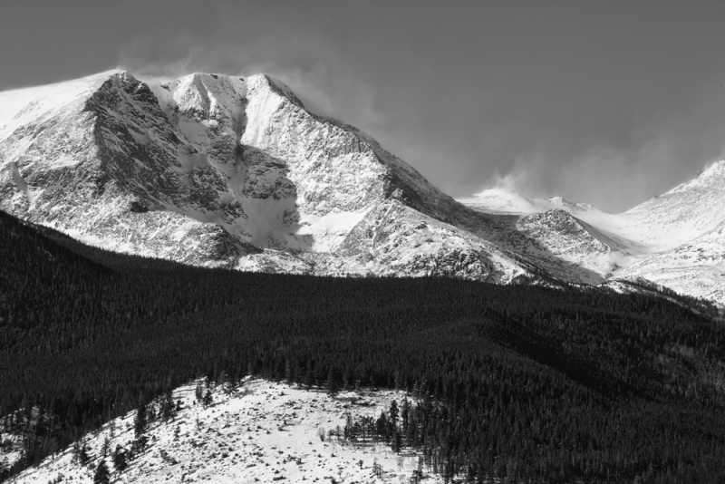 Snow Covered Rockies