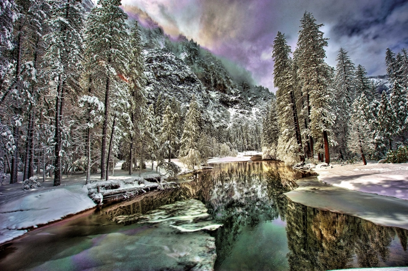 Yosemite Winter Light