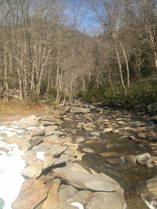 Gatlinburg 2012-melting Snow