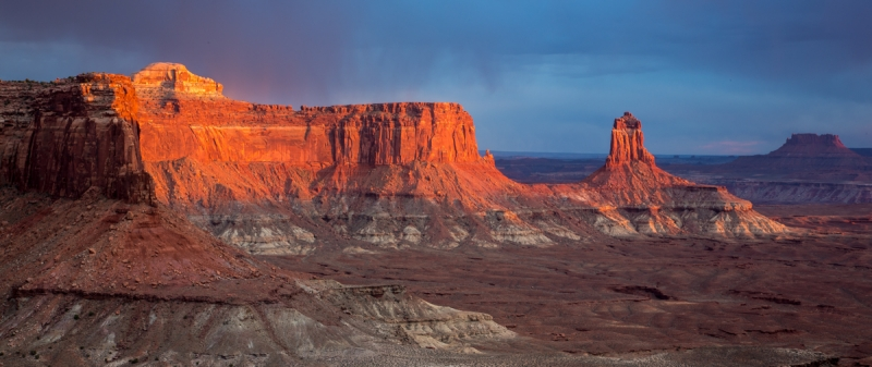 Canyonlands At Sunset