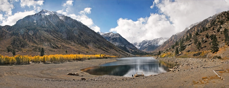 Virginia Lake Fall Drought