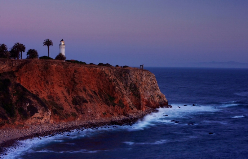 Point Vicente Lighthouse Sunset