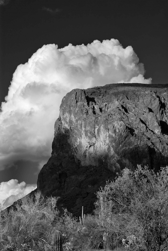 Clouds In The Superstition Mtns