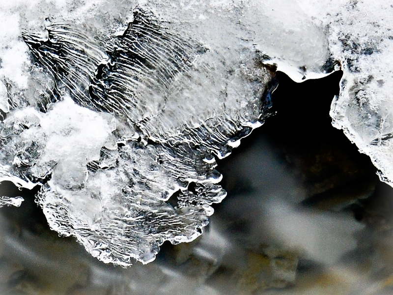 Mapping Patterns In Ice